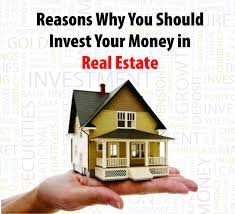 3 Reasons to Invest In Real estate